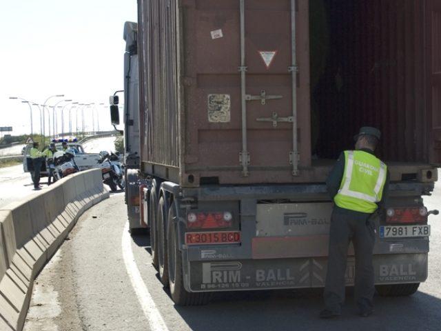 Robo a camiones
