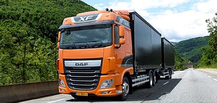 pesos y dimensiones. Copyright © DAF Trucks N.V.