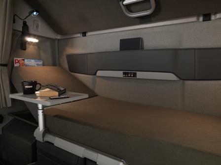 Descanso en cabina_© Volvo Truck Corporation