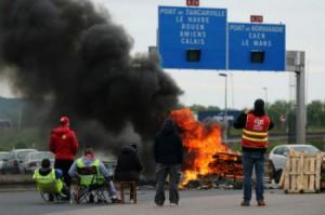 Huelga transportes Francia