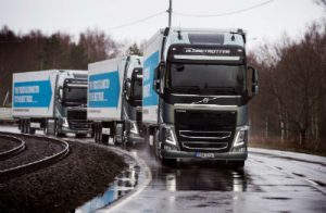 platooning Volvo